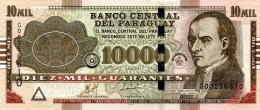 PARAGUAY 10000 GUARANIES 2011 P224e UNC PREFIX G [ PY858a ] - Paraguay