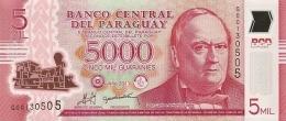 PARAGUAY 5000 GUARANIES 2011 (2013) P234 UNC  [ PY857a ] - Paraguay