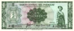 PARAGUAY 1 GUARANI 1952 (1963) P-193a UNC SIGN. 6 [ PY809b ] - Paraguay