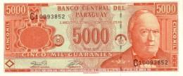 PARAGUAY 5000 GUARANIES 2003 P-220b UNC PREFIX C [ PY837a ] - Paraguay