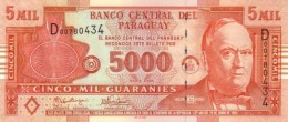 PARAGUAY 5000 GUARANIES 2005 P-223a UNC PREFIX D [ PY841a ] - Paraguay