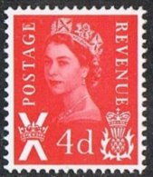 Scotland SG S10 1969 4d Red Unmounted Mint - Regional Issues