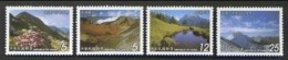 2003 Mount Nan Hu Stamps Mountain Flower Snow Lake Taiwan Scenery - Climate & Meteorology