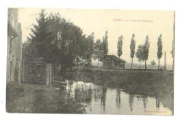Carte Postale Ancienne Jussey (70) La Gare Du Tramway - Sonstige Gemeinden