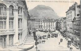 GRENOBLE - 38 - Place Grenette Et Le Mont Eynard -   - ENCH0616 - - Grenoble