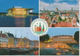 (AKE 110) Esperanto Card 96th World Esperanto Congress 2011 Copenhage - Karto Universala Kongreso En 2011 Kopenhago - Esperanto