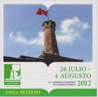 Esperanto 1st Bulletin Congress 2012 Hanoi - Unua Bulteno Universala Kongreso 2012 Hanojo - Oude Boeken