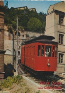 """CPM Vieux Lyon : De Saint-Jean à Fourvière En """"ficelle"""" (funiculaire à Câble) - Funicular Railway"""