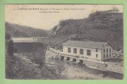 LAVAVEIX LES MINES : Le Barrage Et L'Usine Hydro électrique Des Houillères D'Ahun. 2 Scans. Edition ? - Francia