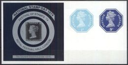 "GROSSBRITANNIEN 1974 SOUVENIR SHEET """"NATIONAL STAMP DAY 1974"""" ** MNH (100) - Cinderellas"
