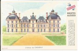 BUVARD BISCOTTES GREGOIRE - CHATEAU DE CHEVERNY - Blotters