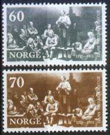 NORWEGEN 1971 MI-NR. 625/26 ** MNH (100) - Norwegen
