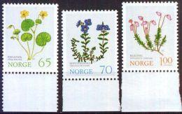 NORWEGEN 1973 MI-NR. 671/73 ** MNH (100) - Norwegen