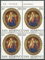 SAN MARINO 1974 MI-NR. 1082 Viererblock ** MNH (100) - San Marino