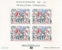 1989 - YT BF 1 ** - VC: 12.50 Eur. - Blocchi & Foglietti