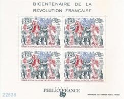 1989 - YT BF 1 ** - VC: 12.50 Eur. - Hojas Bloque