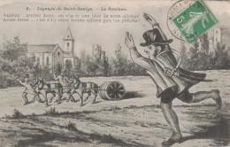 LEGENDE DE SAINT SAULGE -58- LE ROULEAU - Künstlerkarten
