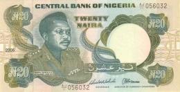 NIGERIA 20 NAIRA 2005 P-26 UNC SIGN. 16 [ NG224l ] - Nigeria