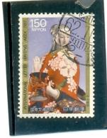 1987 JAPON Y & T N° 1651 ( O ) Semaine De La Lettre - 1926-89 Emperor Hirohito (Showa Era)