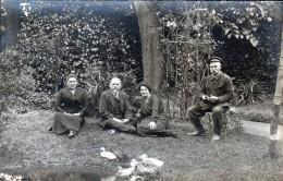 45, BRIARE, CARTE PHOTO DE LA FAMILLE GUILLON, TAILLEUR A BRIARE - Briare