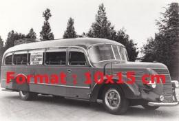 Reproduction D'une Photographie D'un Bus Alfa Romeo De 1939 - Repro's