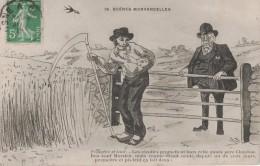 CPA ILLUSTRATEUR - SCENES MORVANDELLES - PROMETTRE ET TENIR - Künstlerkarten