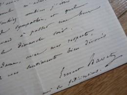 Ernest HAVET (1813-1899) Election MARCELLIN BERTHELOT à L´INSTITUT. Autographe - Autographes