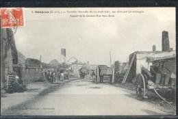 28   DANGEAU  :  INCENDIE  DU  14  AOUT  1911  -  LA  GRANDE  RUE  VERS  BROU   .  (  2  SCANS R° V°  )  . - Frankrijk