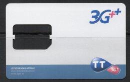Carte Sim  TUNISIE TELECOM  (Sans Puce)