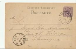 DR GS 1888 SANGERHAUSEN NACH JENA - Germany