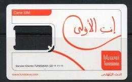 Carte Sim  TUNISIANA (Sans Puce)