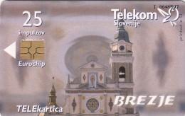 SLOVENIJA SLOVENIA PHONECARD 1999 BREZJE BREZJANSKA MATI BOŽJA BEATIFICATION ANTON MARTIN SLOMŠEK TELEKOM CAT.NO.261 - Slovenia