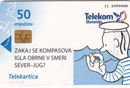 SLOVENIA SLOVENIJA PHONECARD 2009 KOMPAS COMPASS  HOUSE OF EXPERIMENTS   TELEKOM CAT.NO. 770 - Slovenia