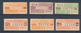DDR Dienstmarken B V - X ** Mi. 30,- - Official