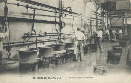 44,Loire Atlantique, NANTES, SOCIETE SAUPIQUET, Bassines Pour La Cuisson,,animations,Scan Recto-Verso - Nantes