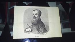Affiche (gravure) - Portrait De André VESALE - Afiches
