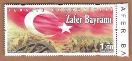 AC - TURKEY STAMP - VICTORY DAY MNH 30 AUGUST 2016 - 1921-... República