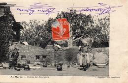 6657. CPA MAROC. CUISINE DES SENEGALAIS - Maroc