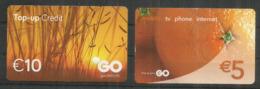 Deux Télécartes De MALTA (GO.COM.MT) - Malte