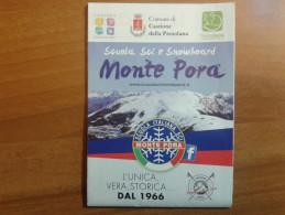 Alt927 Ski Area Map Mappa Piste Sci Impianti Risalita Slopes Skilift Cablecar Charlifts Funivia Presolana Monte Pora - Sport Invernali