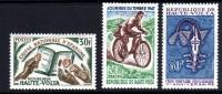 Haute Volta N° 181 / 83  X  Les 3 Valeurs Trace De Charnière Sinon TB - Upper Volta (1958-1984)