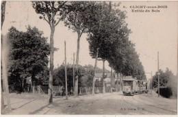 Clichy Sous Bois Entrée Du Bois  Tramway - Clichy Sous Bois