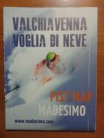 Alt930 Ski Area Map Mappa Piste Sci Impianti Risalita Slopes Skilift Cablecar Charlifts Funivia Valchiavenna Madesimo - Sport Invernali
