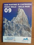 Alt933 Ski Area Map Mappa Piste Sci Impianti Risalita Slopes Skilift Cablecar Charlifts San Martino Passo Rolle Dolomiti - Sport Invernali
