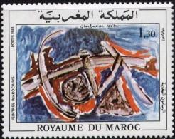 "Maroc YT 879 "" Peinture "" 1981 Neuf** - Marokko (1956-...)"