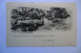 CPA 56 MORBIHAN BELLE ISLE EN MER. Le Fort De Sarah Bernhardt. 1902. - Belle Ile En Mer