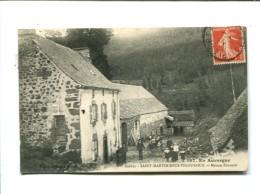 CP  - SAINT MARTIN SOUS VIGOUROUX (15) Maison Fournier - Other Municipalities