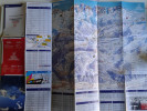 Alt941 Ski Area Map Mappa Piste Sci Impianti Risalita Skilift Cablecar Lifts Campiglio Dolomiti Brenta Val Sole Rendena - Sport Invernali