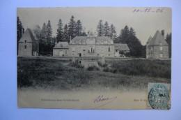 CPA 61 ORNE CHATEAU DES TOURAILLES. 1906. - Sin Clasificación