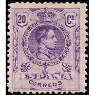 ES273STV-LFT***273S.España.Spain. Espagne.REY ALFONSO Xlll.MEDALLON .1909/22.(Ed 273**)  Sin  Charnela - 1889-1931 Reino: Alfonso XIII